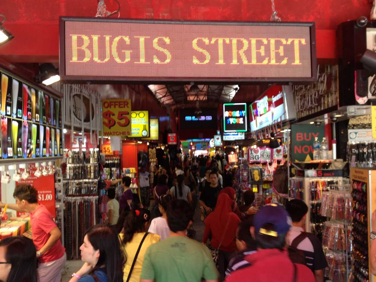 Bugis Street, Cheap Shopping in Singapore