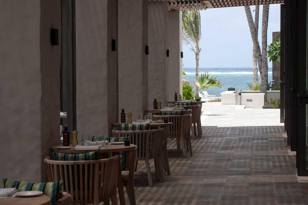 Long Beach hotel, Mauritius in September