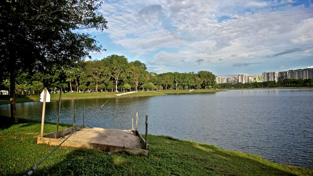 Bedok Reservoir, Fishing at Singapore
