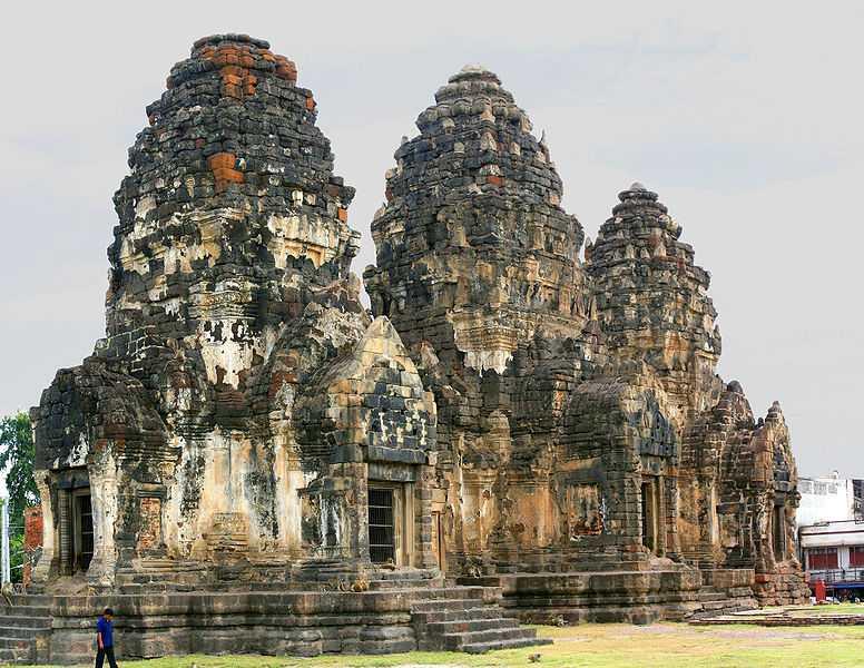 Phra Prang Sam Tot Temple, Ruins of Thailand