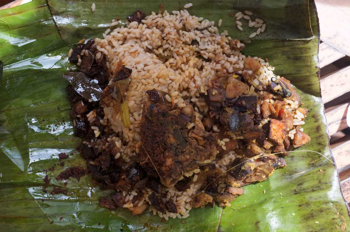 Lamprais, Food in Colombo