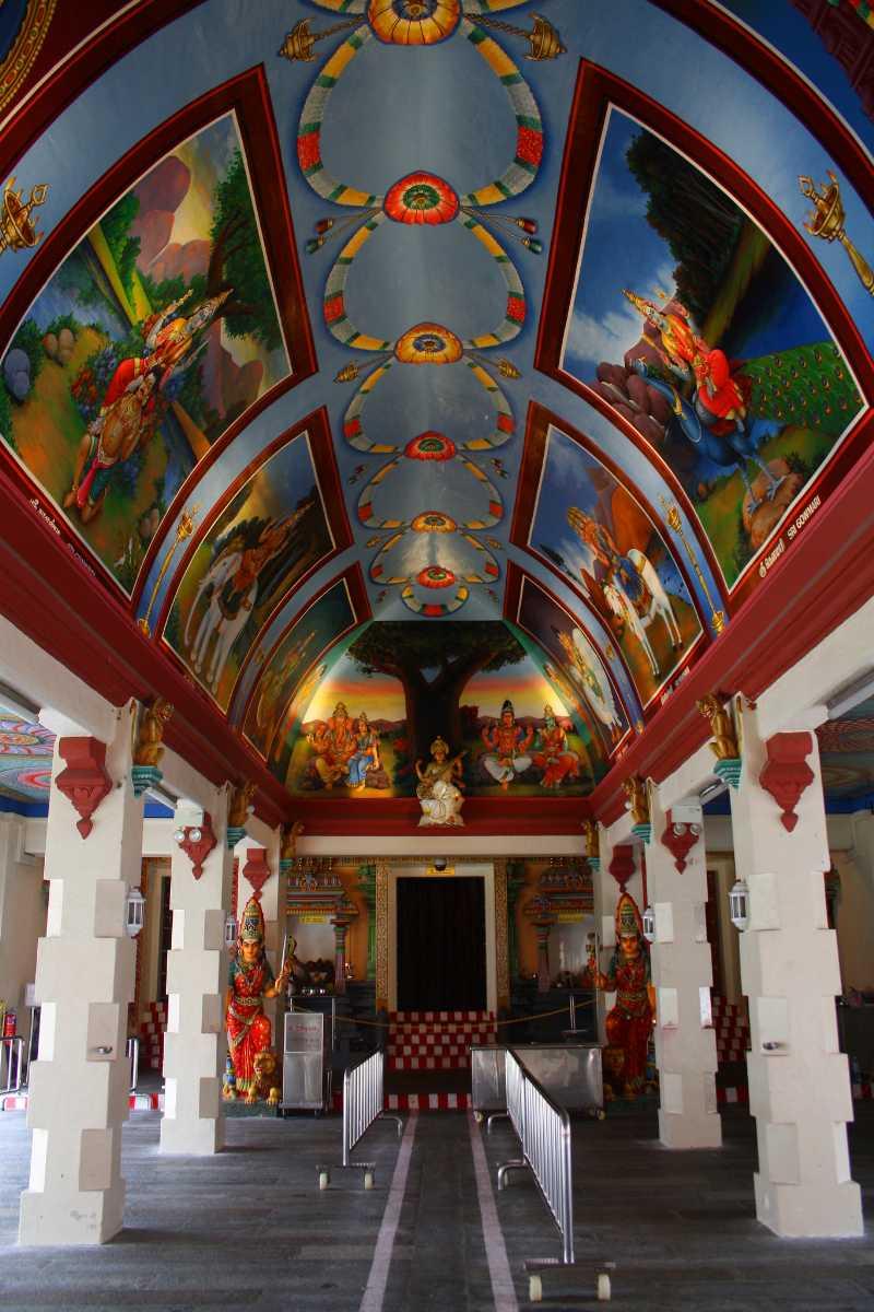 Sri Mariamman Temple Interior