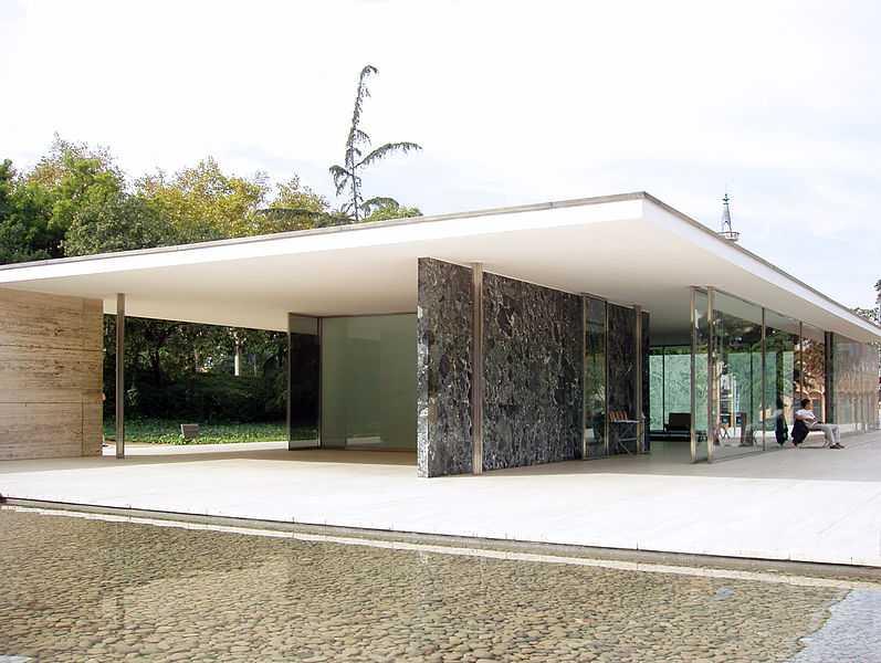 Pavellion Mies Van Der Rohe, Montjuic