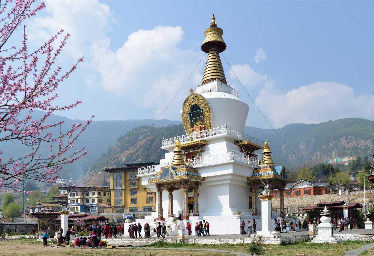 National Memorial Chorten, Architecture in Bhutan