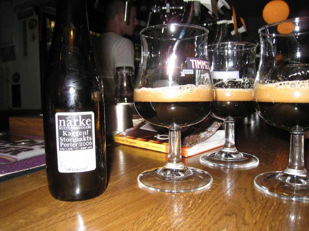 Narke Kaggen Stormaktsporter Beer from Sweden