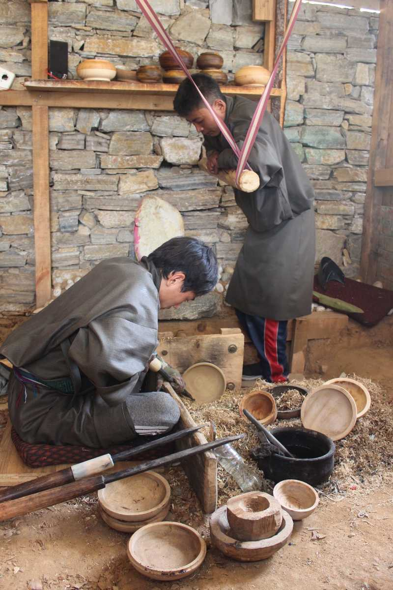 Shagzo, Wood Turning Art in Bhutan