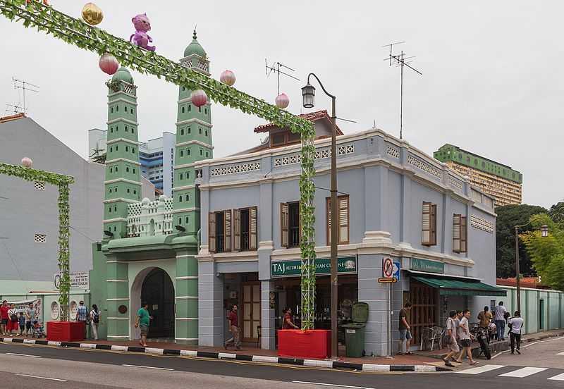 Jamae Mosque, Architecture in Singapore