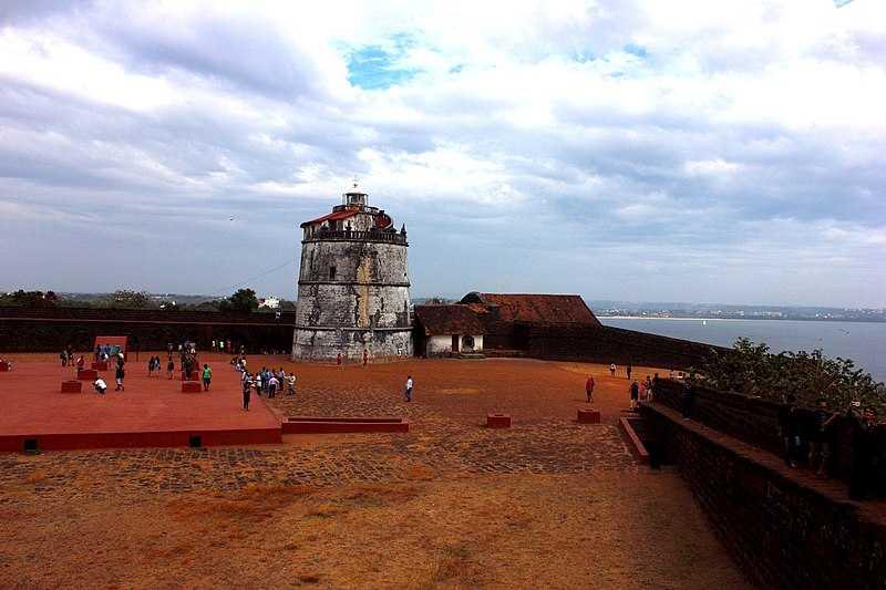 Aguada Fort, Honeymoon in Goa