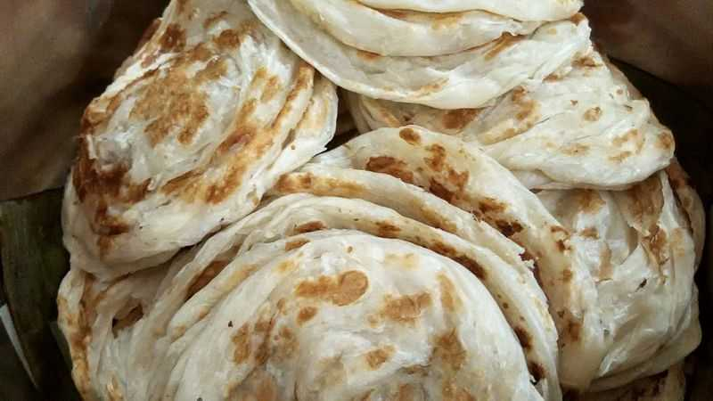 Kerala Parotta, Food of Mangalore