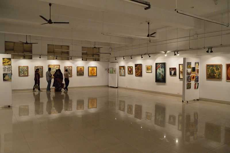 art galleries in india, academy of fine art kolkata