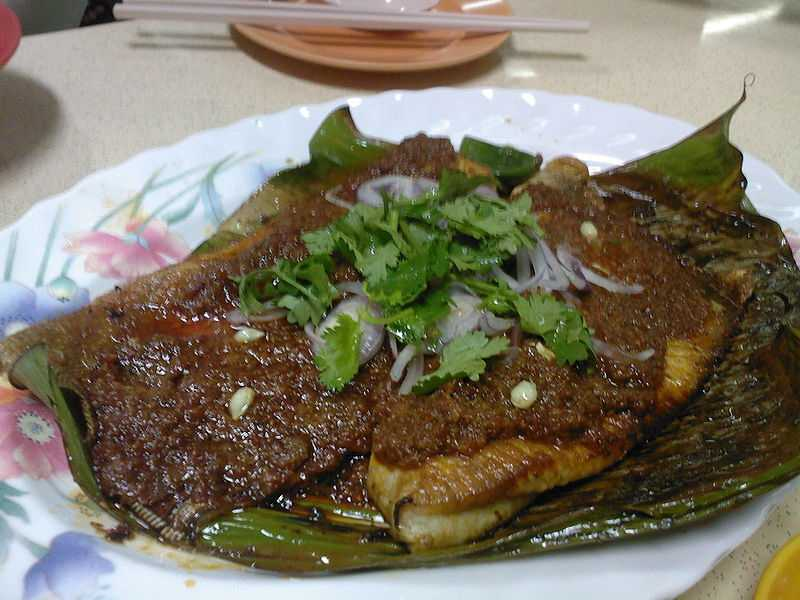 Sambal Stingray, Dishes of Singapore