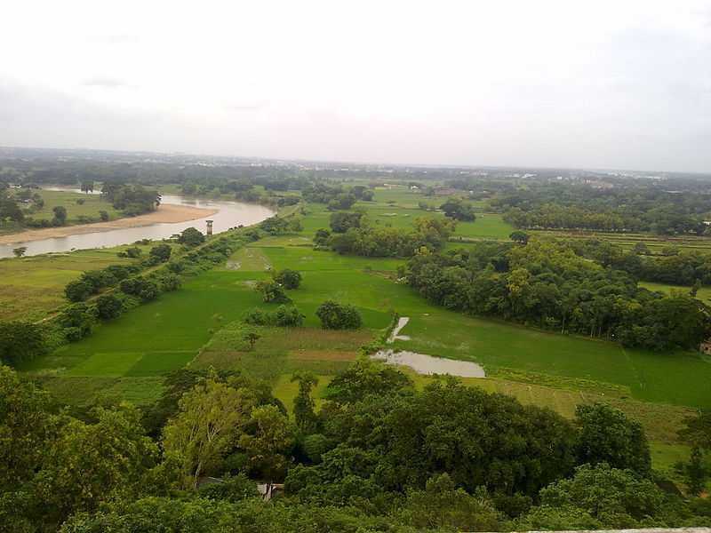 Bhubaneshwar City View from Dhaulagiri Hills