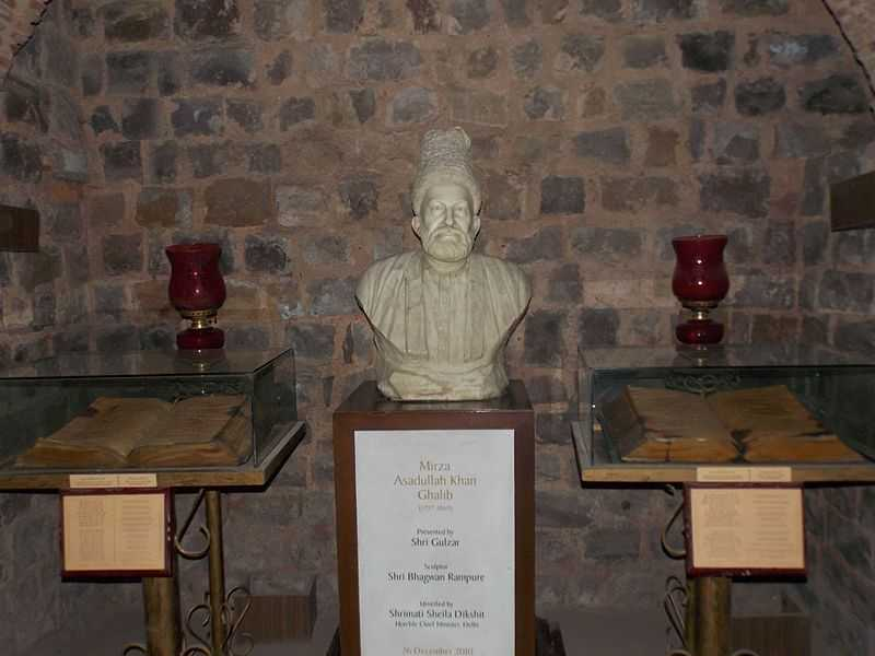 Sculpture of Mirza Ghalib