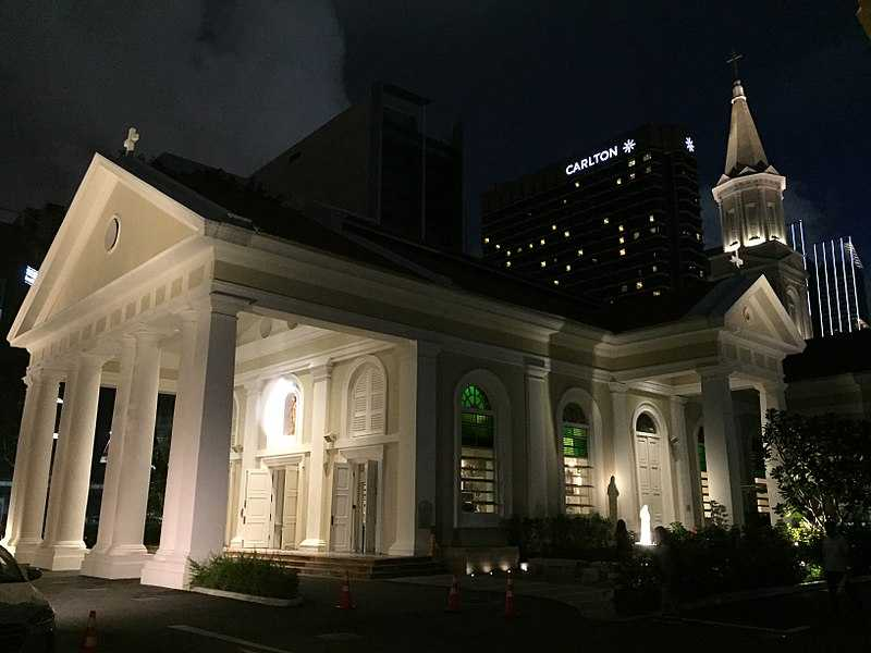 Cathedral of the Good Shepherd at Night