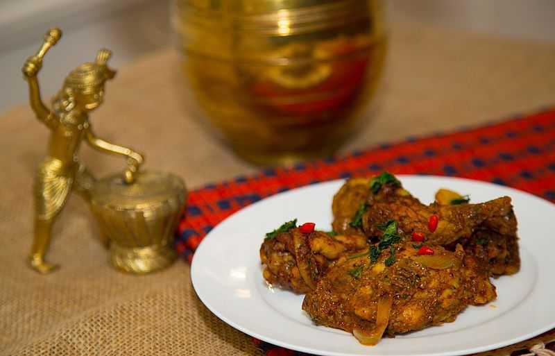 Chicken Ghee Roast, Food in Mangalore