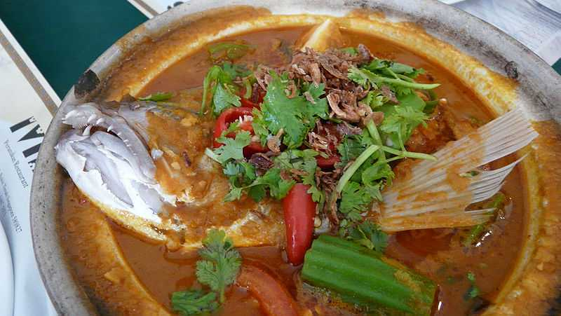 Fish Head Curry, Dishes of Singapore