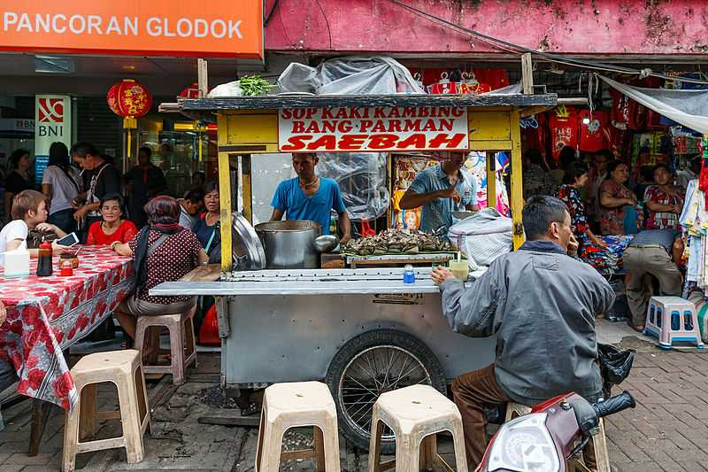 Best shopping places in Jakarta Glodok Chinatown