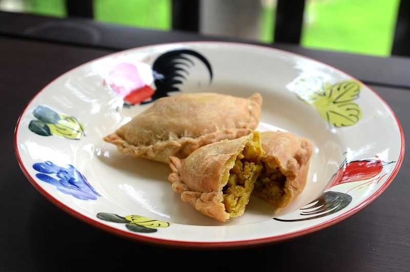 Curry Puff, Dishes of Singapore