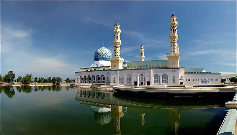 Kota Kinabalu City Mosque, Architecture of Sabah