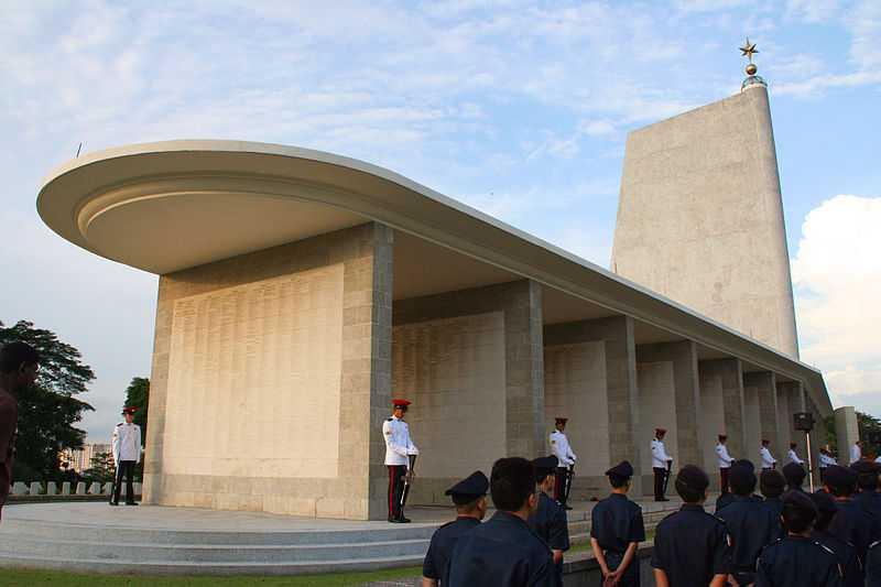 Remembrance Day at Kranji War Memorial