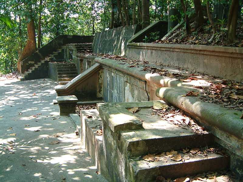 Relics of Old Fort at Labrador Nature Park Singapore