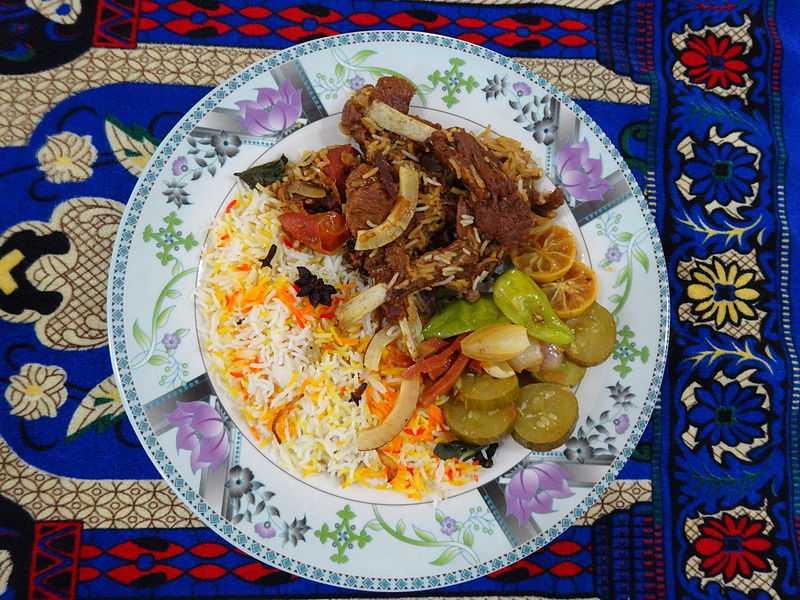Malaysian Nasi Biryani