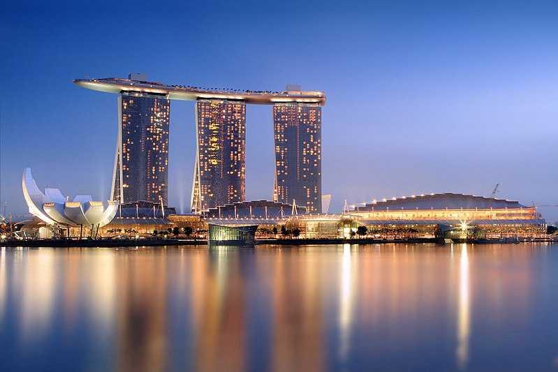 Marina Bay Sands, Architecture of Singapore