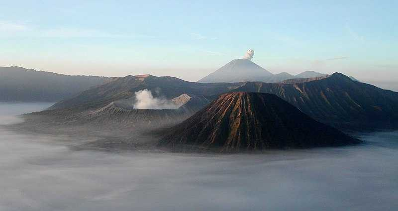 Mount Bromo, Landscapes in Indonesia