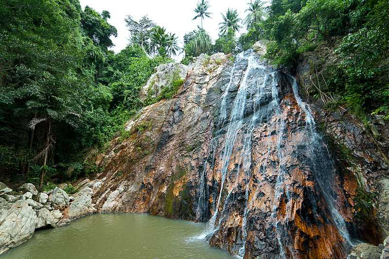 Na Muang Waterfalls, Family Friendly Places in Koh Samui