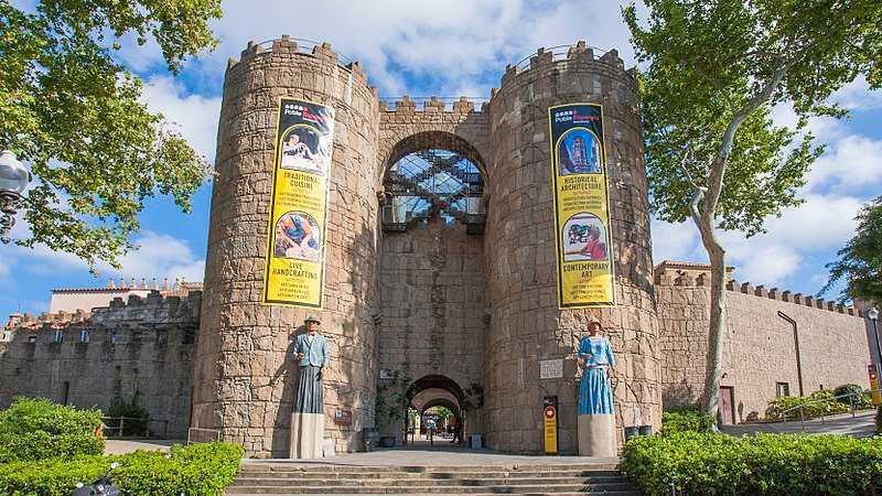 Poble Espanyol village entrance