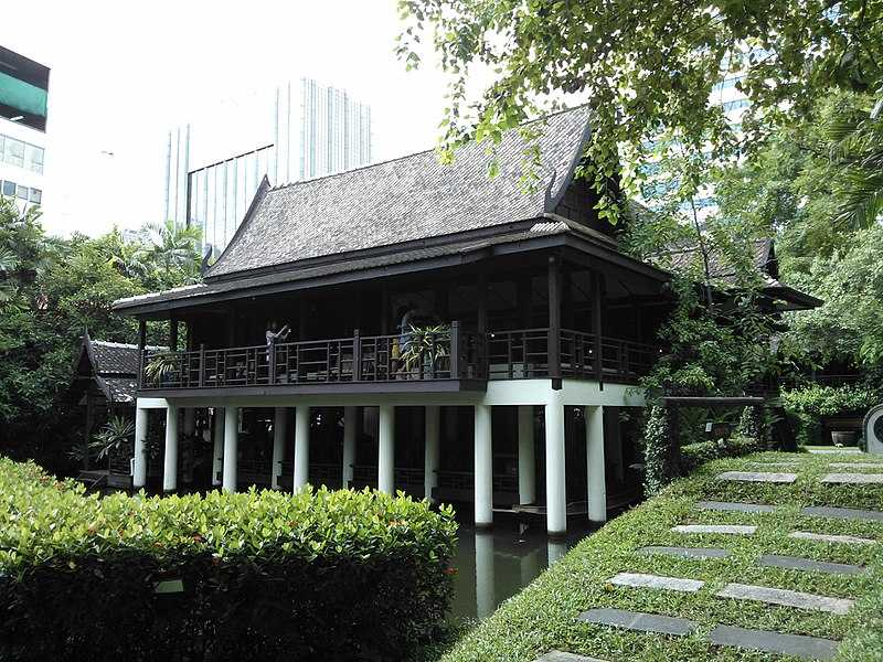 One of the traditional Thai houses of the Suan Pakkad Palace