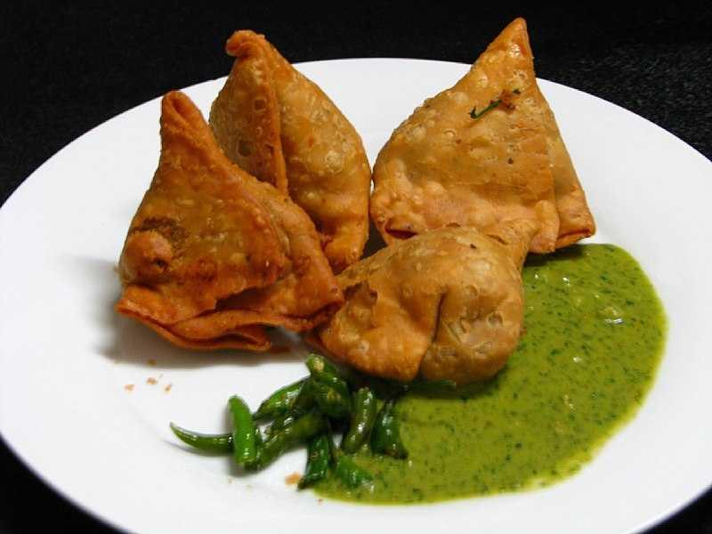 Samosa, Street food of goa