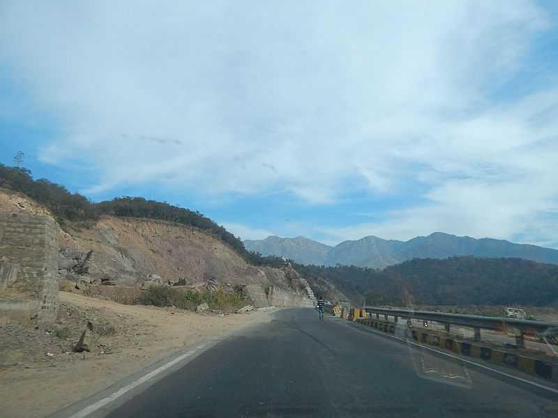 Shimla Chandigarh Highway