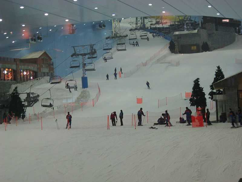 Ski school at ski dubai