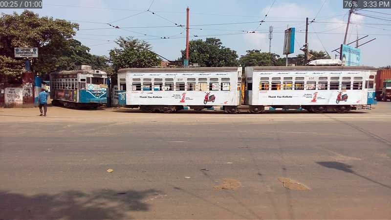 Trams in Kolkata