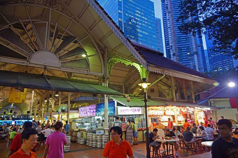 Telok Ayer Street Market, Singapore Nightlife