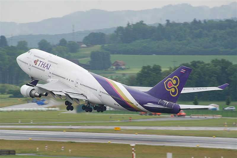 Thai Airways, Bali Vs Phuket