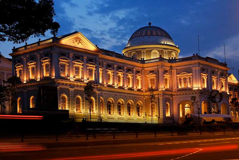 National Museum of Singapore, Architecture of Singapore