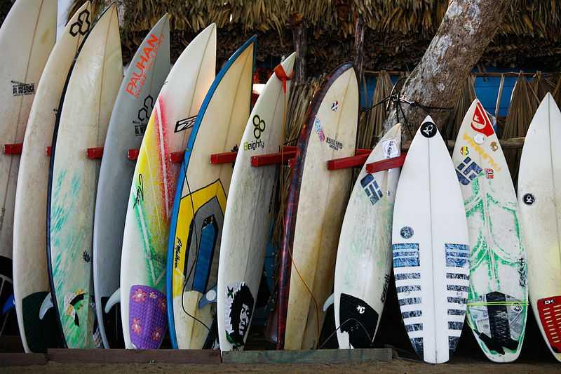 Surfing in Bali, Surfboards