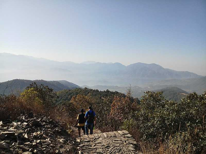 Champadevi, Hiking in Nepal