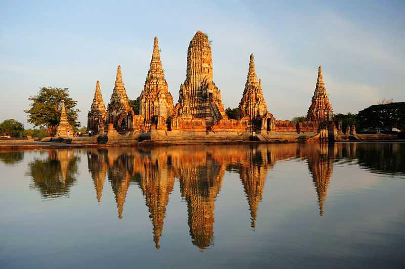 Wat Chaiwatthanaram, Ruins of Thailand