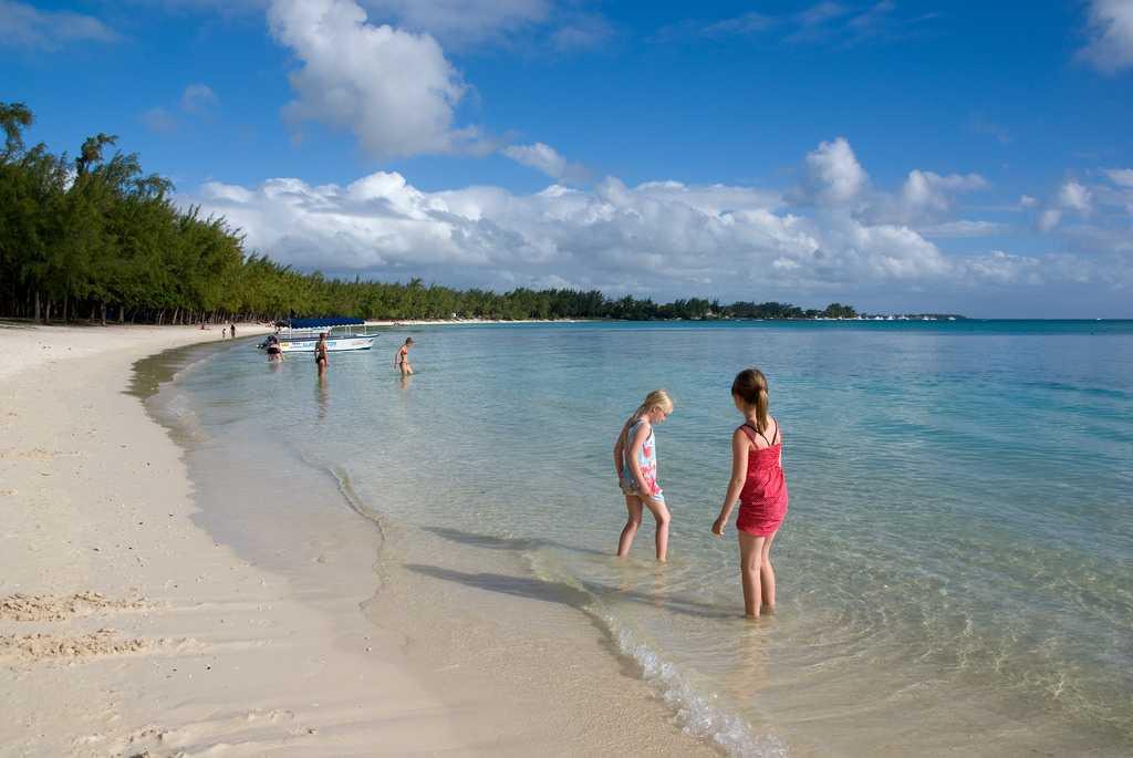 Trou Aux Biches, Mauritius In May