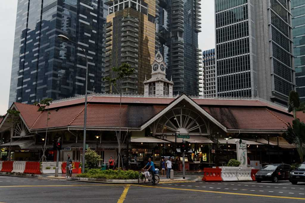 Lau Pa Sat Hawker Centre Singapore