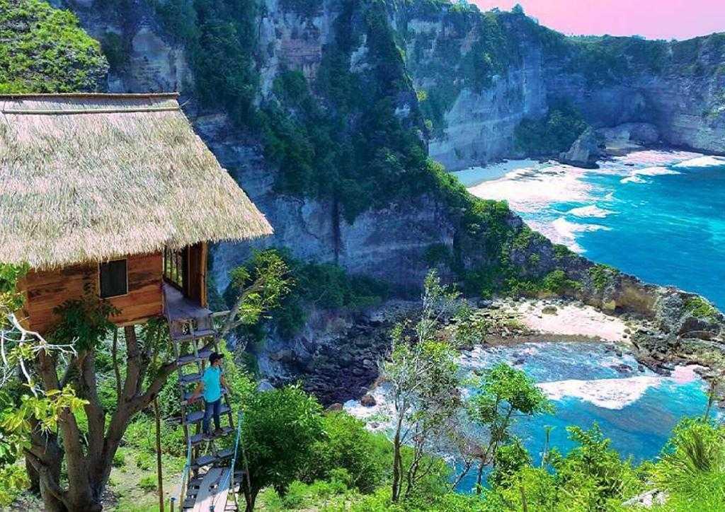 Rumah Pohon Nusa Penida Bali