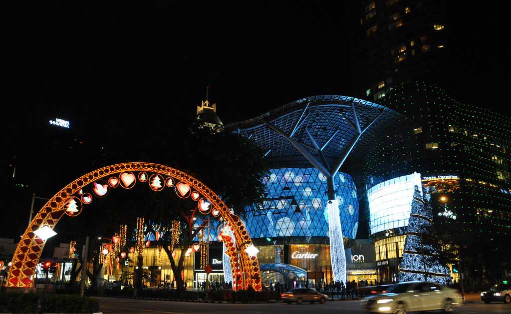 Orchard Road is a highly popular boulevard and landscape of Singapore.