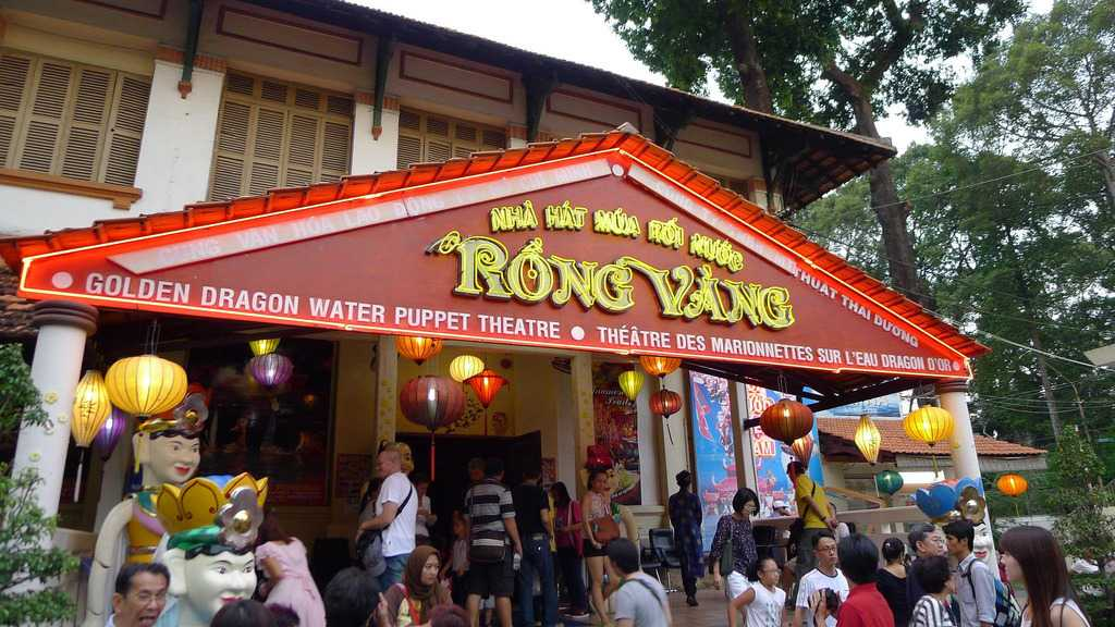Golden Dragon Water Puppet Theater, Ho Chi Minh City