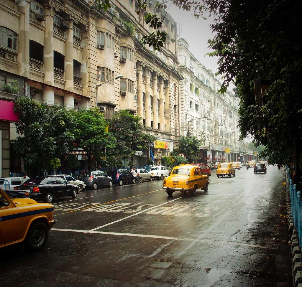 Park Street after the rains