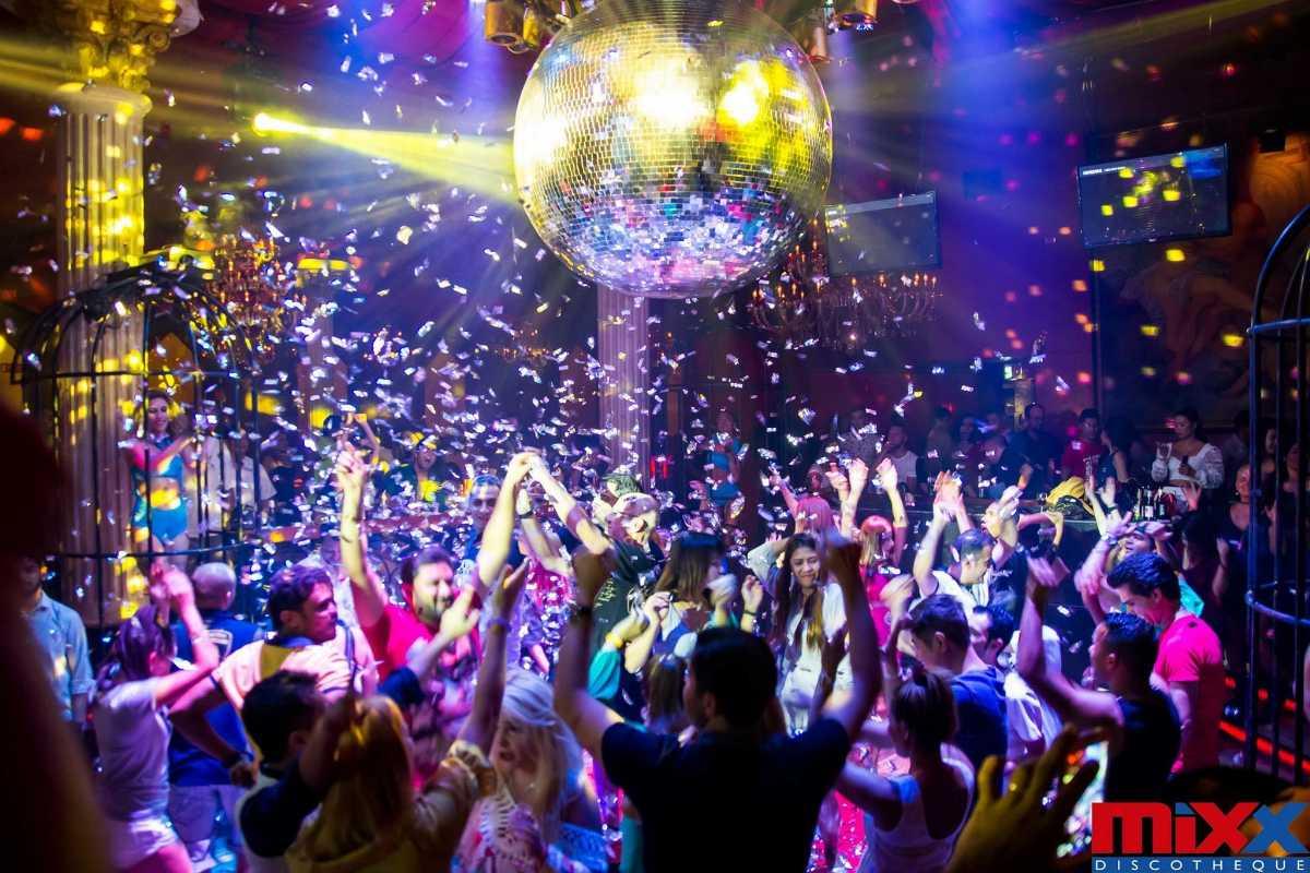 A Party at mixx discotheque, Pattaya