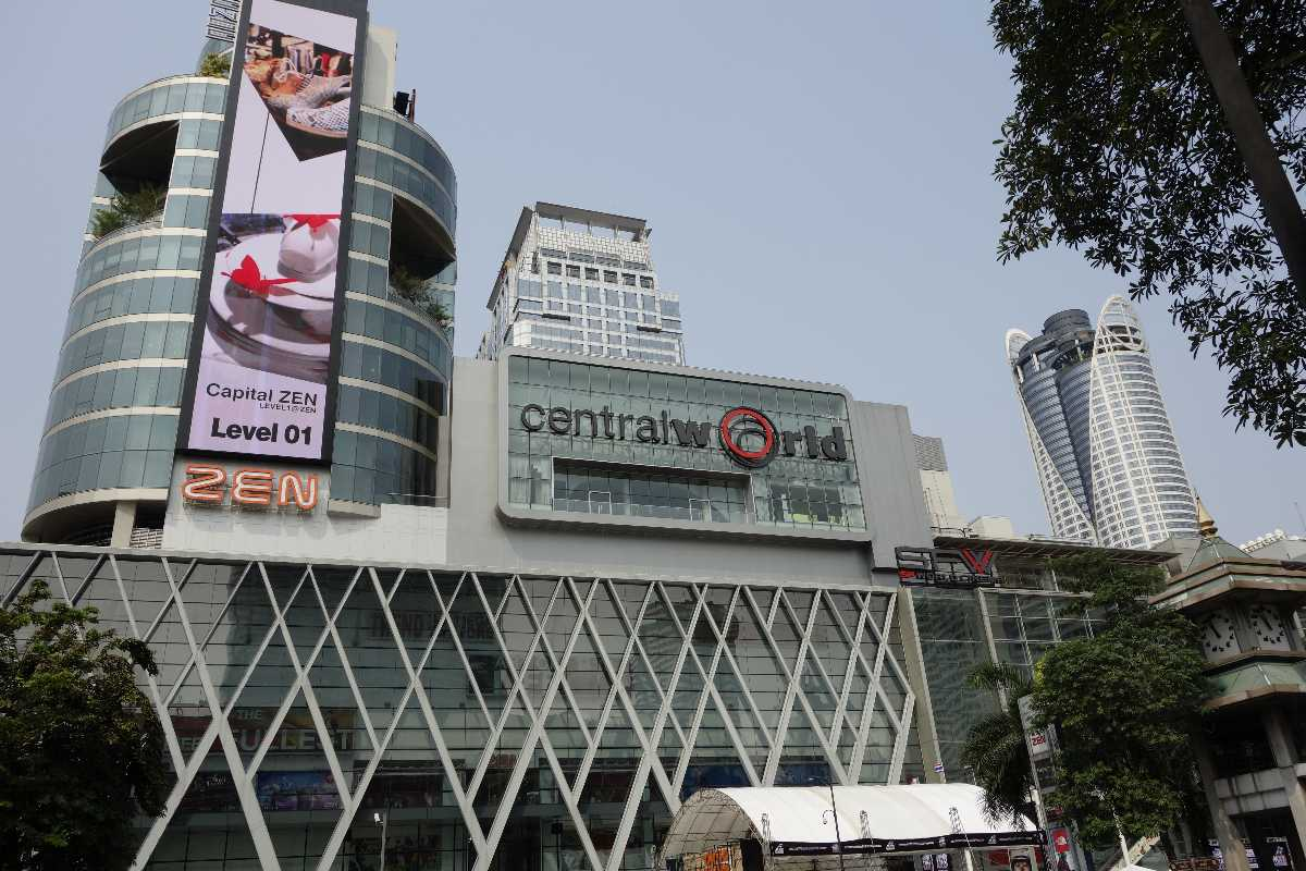 Shopping at CentralWorld