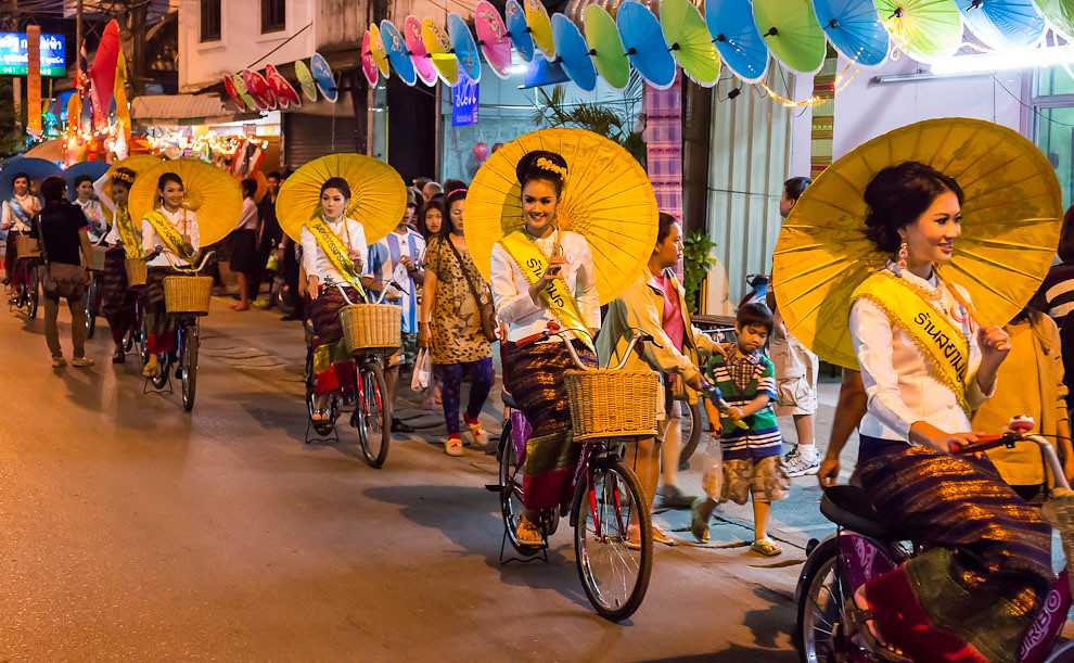 Bosang Umbrella Festival, Thailand
